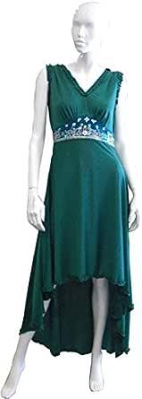 Sana'a Kayum Designer Evening Wear, Green [skcs-100567]