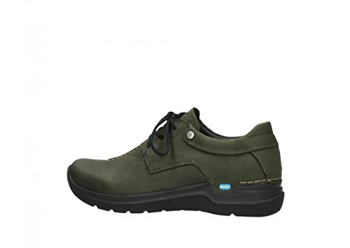 Lacets Vert Wolky Chaussures Wasco Comfort À Nubuck 11730 qFFCtBW