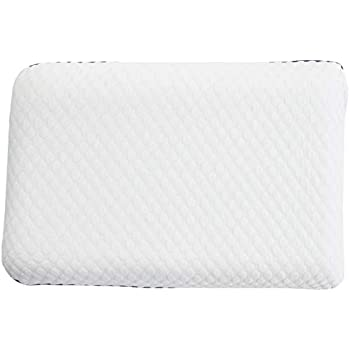 WEEKENDER Ventilated Gel Memory Foam Pillow - Washable Cover - Standard Size