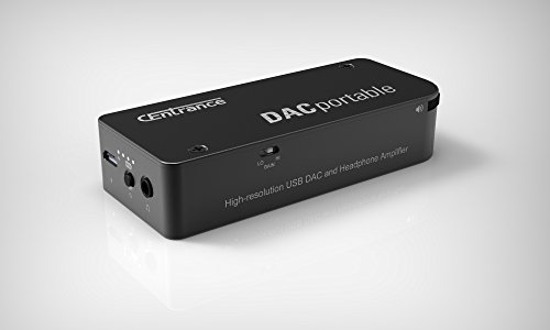 CEntrance DACportable rechargeable USB 32bit/384kHz DSD DAC / ClassA Headphone Amp
