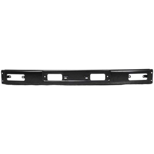 (Front Bumper Compatible with Toyota 4Runner 1984-1989 Face Bar Black 4WD)