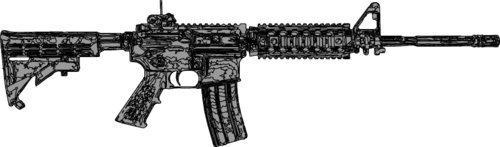 gun magnet refrigerator - 6