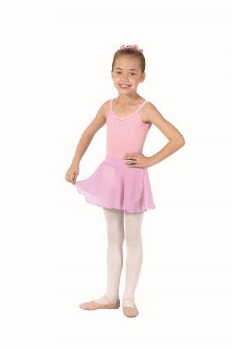 Eurotard 10127 Child Pull-On Skirt,Pink,X-Small