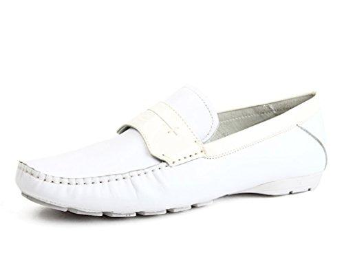 EU UK7 Nubukleder Weiß Herren Lederschuhe 41 Farbe größe Lounger Herrenschuhe Schuhe Herrenschuhe Freizeitschuhe Weiß 7wvEwxZOpq