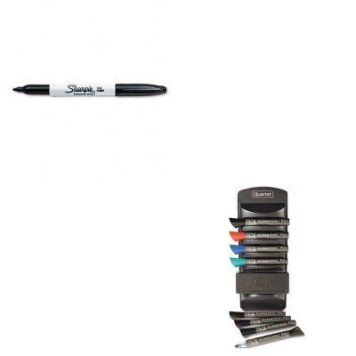Quartet Marker Caddy Kit - KITQRT558SAN30001 - Value Kit - Quartet Dry Erase Marker Caddy Kit (QRT558) and Sharpie Permanent Marker (SAN30001)