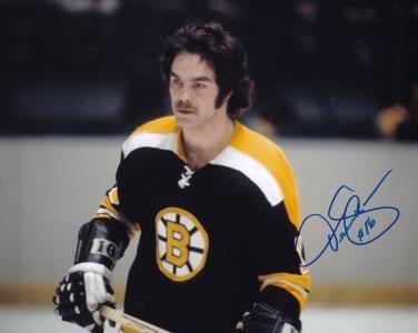 Derek Sanderson Autographed Picture - 8x10 - Autographed NHL Photos