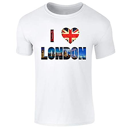 Flip I Love London Tourist Landmarks T-Shirt – Mens Womens and Kids Sizes 316Td4uLNqL
