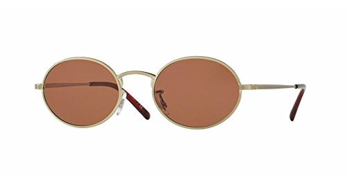 Oliver Peoples Empire Suite - Brushed Gold / Persimmon - 1207 525253 - Sunglasses Empire