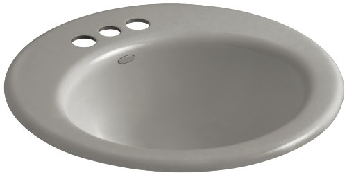 KOHLER K-2917-4-K4 Radiant Self-Rimming Bathroom Sink with 4