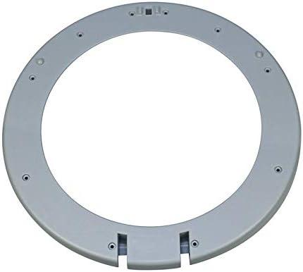 Anillo de la puerta marco de la ventana interior gris para lavadora Bosch Siemens 00432074 432074