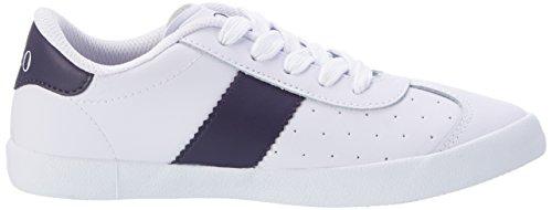 Ralph Lauren Swift - Zapatillas de casa Niños Weiß (White Leather w/ navy - white pp)
