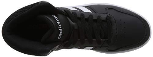 Mid ftwbla Chaussures Homme 2 0 Hoops Adidas negbas Fitness 000 Noir De f7OwFtq