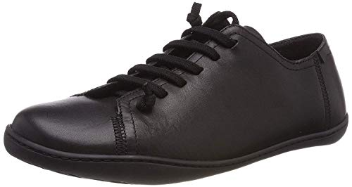 Camper Peu Cami 17665 Black Blue Mens Leather Lo Trainers Shoes Boots-45 ()