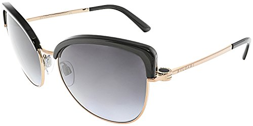 Bvlgari 376-8G Black / Gold 6082 Retro Sunglasses Lens Category - Bvlgari Gold