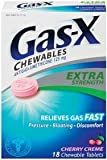 Gas-X Chewable Tablets-Cherry Creme-18 ct. by Gas-X