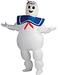 Rubies Ghostbusters Inflatable Stay Puft Marshmallow Man Adult Costume-