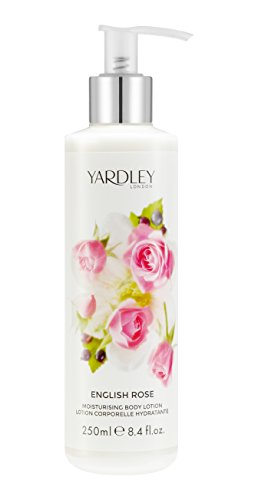 Yardley of London Moisturizing Body Lotion for Women, English Rose, 8.4 Ounce