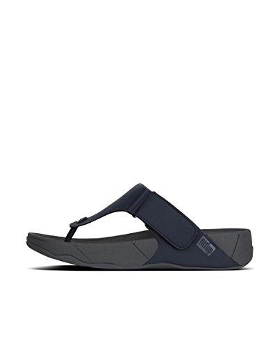 Fitflop Uomo Tirato In Neoprene Sandalo A Mezzanotte Blu Scuro
