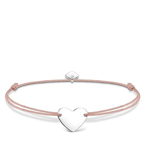 THOMAS SABO Damen Armband Little Secret Herz 925 Sterling Silber