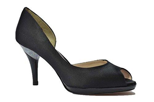 Melluso Decolte' scarpe donna nero E1304