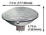 Halogen Ceiling Lights 500PAR56QNSP 120V (Case of 6)