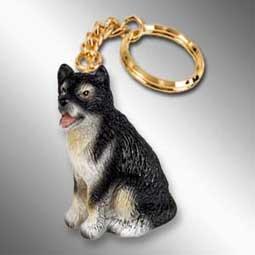 Alaskan Malamute Dog Keychain - Alaskan Malamute Dog Keychain