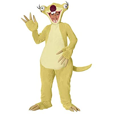Ice Age Sid the Sloth Child Costume: Clothing