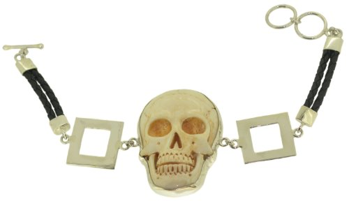Skull Sterling Silver 925 Brac