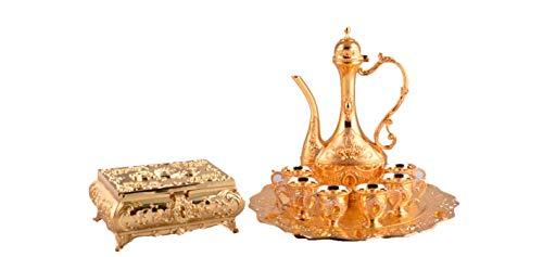 GOLDEN ARABIC COFFEE - SET W/TRY