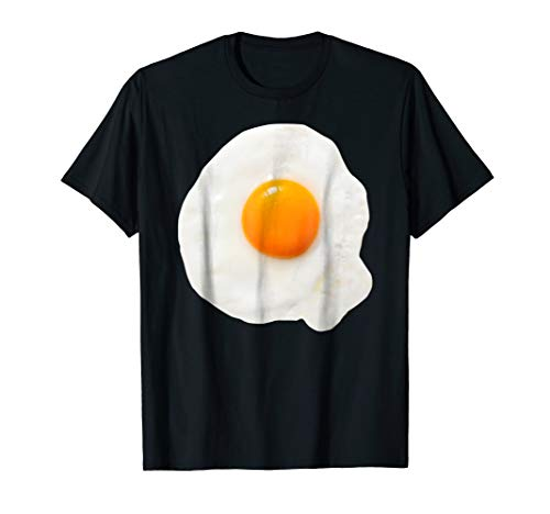 Fried Egg Costume Halloween Yolk Breakfast Food Gift T-Shirt -