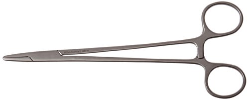 Needle Holder Miltex Hegar Mayo - Integra Miltex MH8-46 Mayo-Hegar Needle Holder, 184mm Length