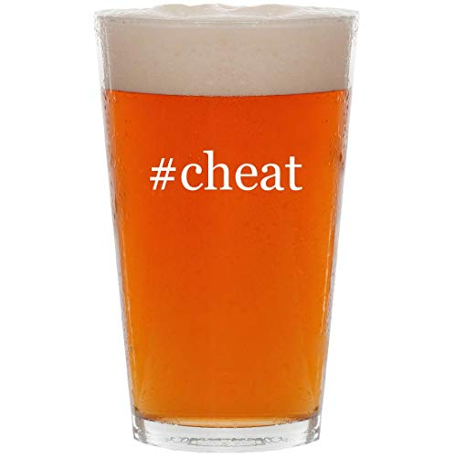 #cheat - 16oz Hashtag All Purpose Pint Beer Glass (Gta San Andreas All Cheats For Ps2)