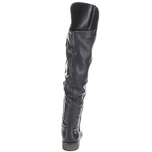 Tenesee 17 Boots Womens Black Riding Breckelles TfwZZx