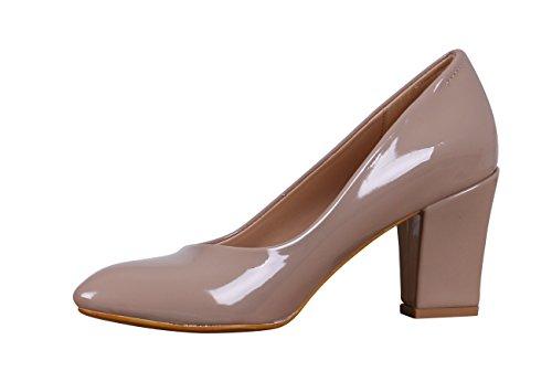 Toni Ellen 2000 Roe Damen Pumps Highheels Stiletto Schuhe Auswahl Taupe