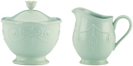 Ice Blue Lenox French Perle Pitcher Large