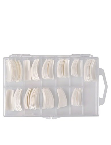 Tips para Uñas de Gel Acrilicas Artificiales Caja, Un tips Francés, pieza 120