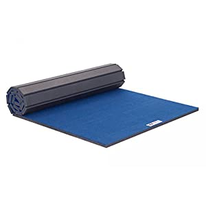 IncStores Deluxe Carpet Top Cheer Mats 5ft x 10ft x 1-3/8in Perfect for Cheerleading, Gymnastics, Exercise & Practice Pads