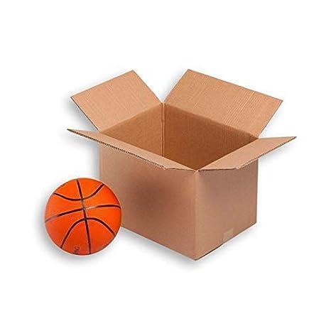 Cajas de Cartón económicas Canal Simple - TeleCajas X10TCSS (x10) Lote de 10 unidades (43x30x25): Amazon.es: Oficina y papelería