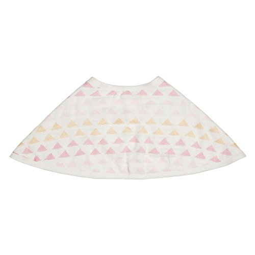 "aden + anais Silky Soft Metallic Burpy Bib; 100% Viscose bamboo Muslin; Soft Absorbent 4 Layers; Multi-Use Burp Cloth and Bib; 22.5"" X 11""; Single; Primrose by aden + anais (Image #6)"