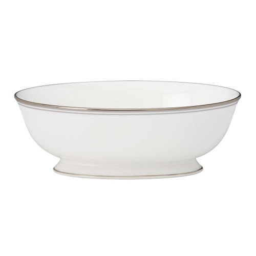 Lenox Federal Platinum  Open Vegetable Bowl, (China Platinum Tureen)