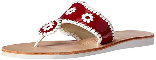 Dress White Sandal Red Jacks Women's Jack Rogers Boating xqAw0AIT