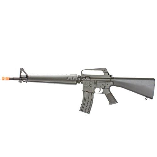 BBTac 800014 M16A2 Airsoft Gun Vietnam Style Spring Airsoft Gun Rifle Full Size Airsoft Metal Mp5 Rifle