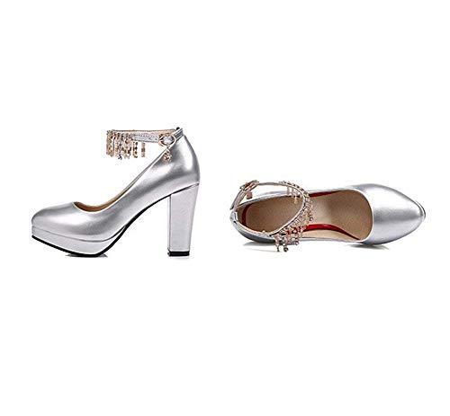 Eu Chaussures Heels 38 Femmes High Sed Chaîne 's Clasp gHYq8wY