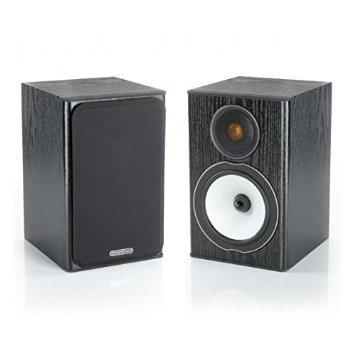 Monitor Audio Bronze Series 1 2 Way Bookshelf Speakers - Black Oak
