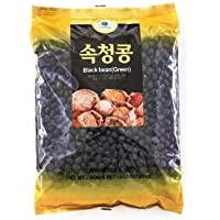 ROM AMERICA Black Bean (Green) 속청 통 (서리태) (2 LB)