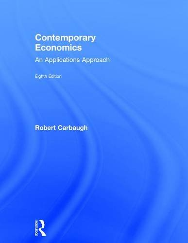 Contemporary Economics: An Applications Approach by Routledge