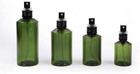 2pcs 200 ml 6.8oz vacío recargable de plástico verde oscuro