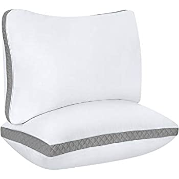 Amazon Com Utopia Bedding Gusseted Quilted Pillow 2 Pack