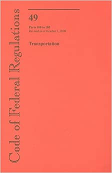 Book Code of Federal Regulations, Title 49, Transportation, Pt. 100-185, Revised as of October 1, 2008