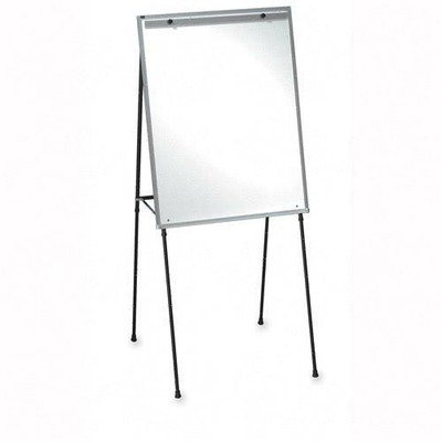 Lorell Dry-Erase Board Display Easel with Rubber Feet, 40-Inch to 70-Inch, Black by Lorell